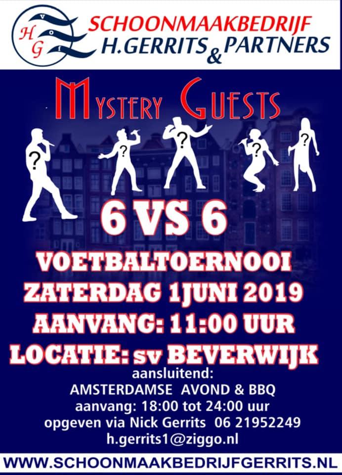 Impressie van het H. Gerrits-toernooi op zaterdag 1 juni 2019