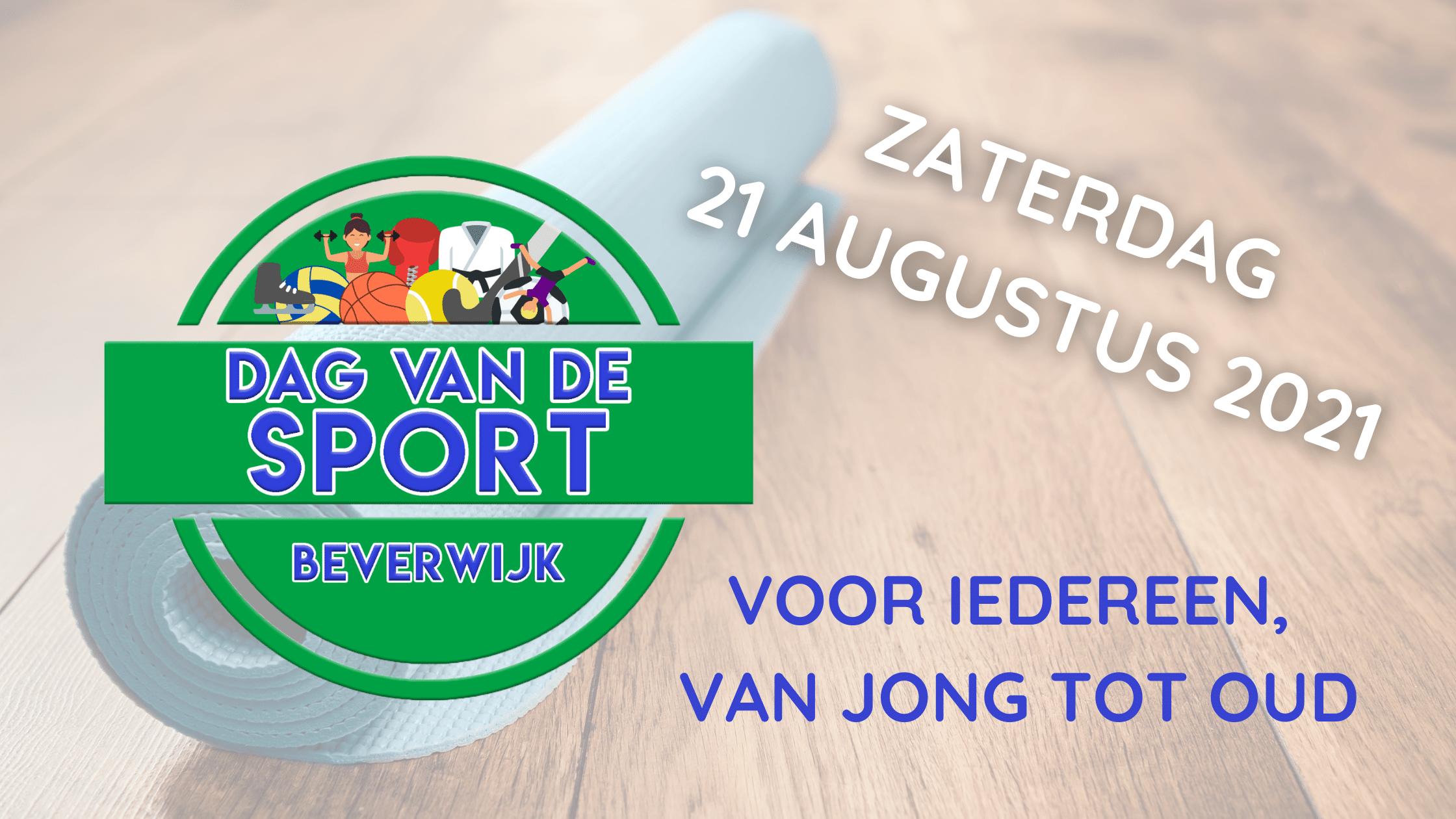 Dag van de Sport op 21 augustus